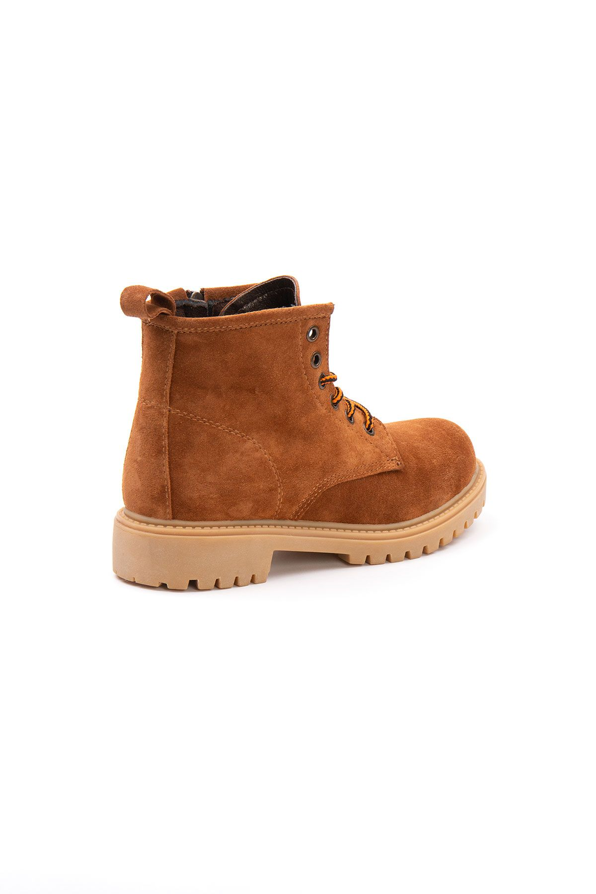 Pegia Genuine Suede Women's Boots 500805 Ginger