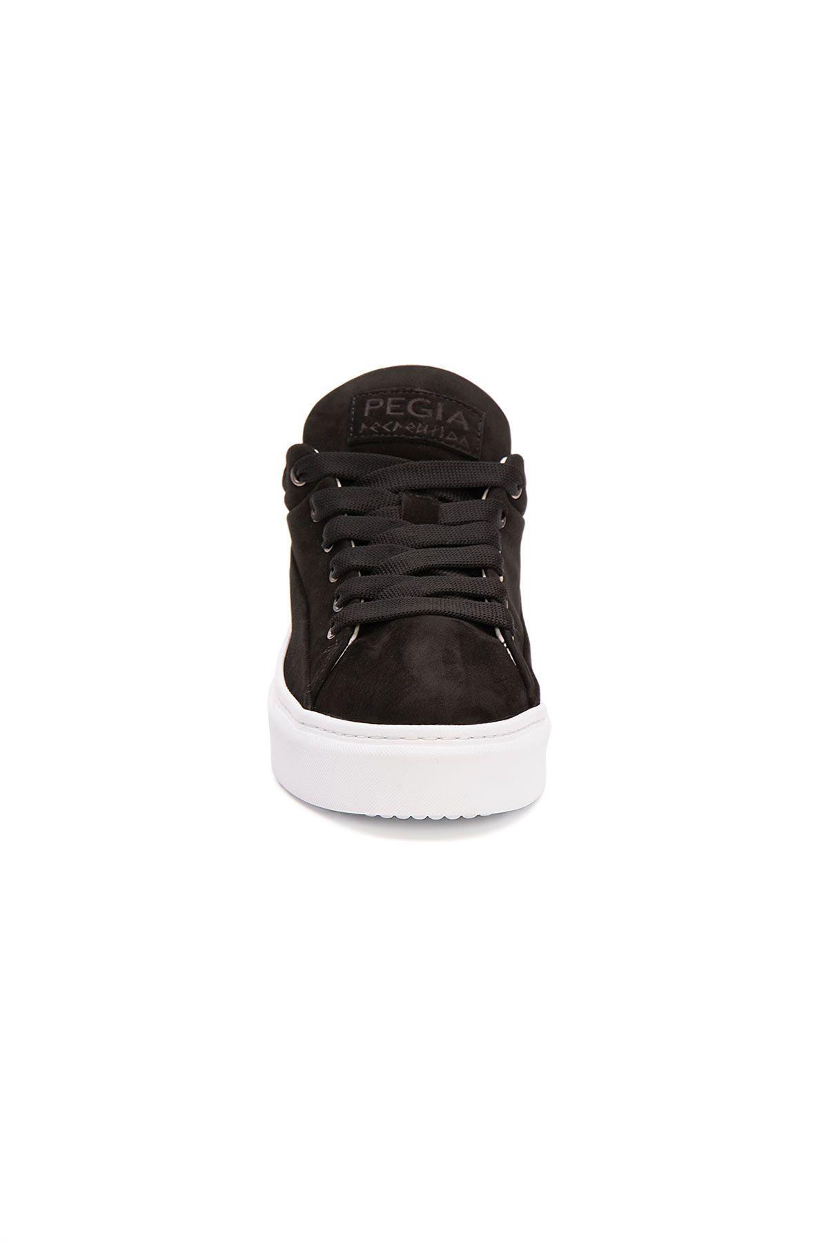 Pegia Genuine Nubuck Women's Sneaker LA1613 Black