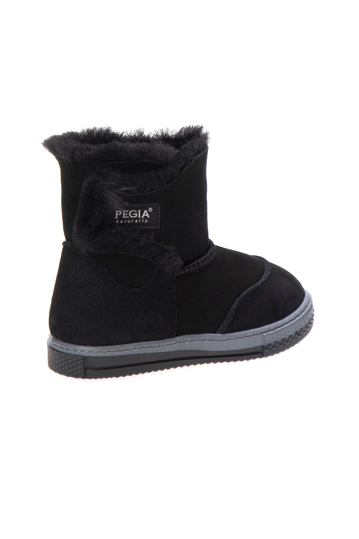 Pegia Sheepskin Children's Boots 186007 Black