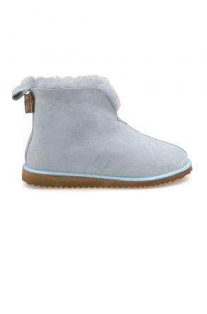 Pegia Sheepskin Women's House Boots 191200 Blue
