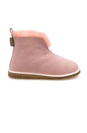 Pegia Sheepskin Women's House Boots 191200 Pink