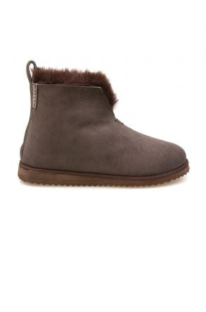 Pegia Sheepskin Women's House Boots 191200 Brown