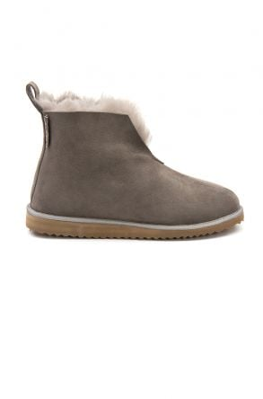 Pegia Sheepskin Women's House Boots 191200 Gray