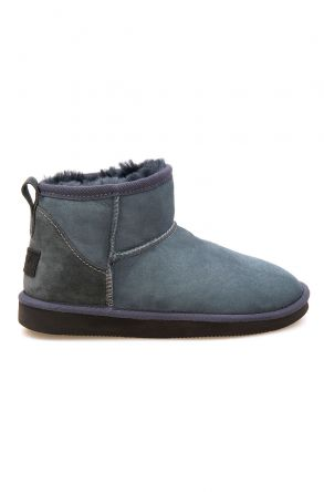 Pegia Genuine Suede Women's Mini Boots 191130 Dark Gray