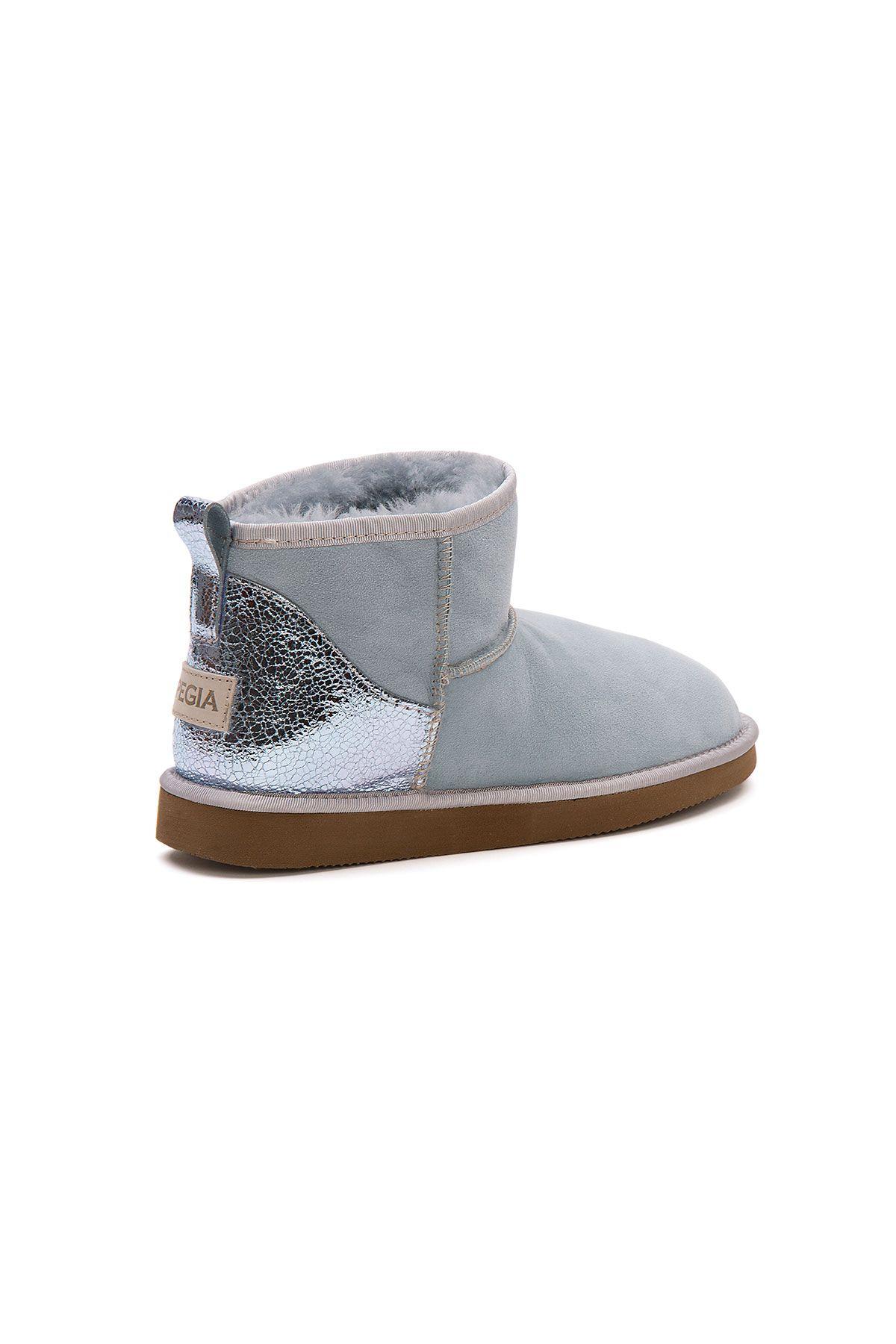 Pegia Shearling Women's Mini Boots 191133 Blue