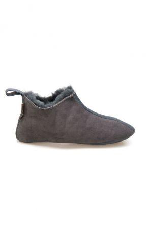 Pegia Women's Shearling House Shoes 980710 Dark Gray