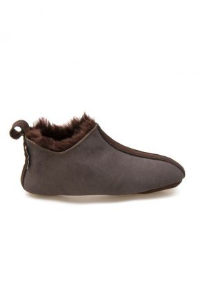 Pegia Women's Shearling House Shoes 980710 Brown