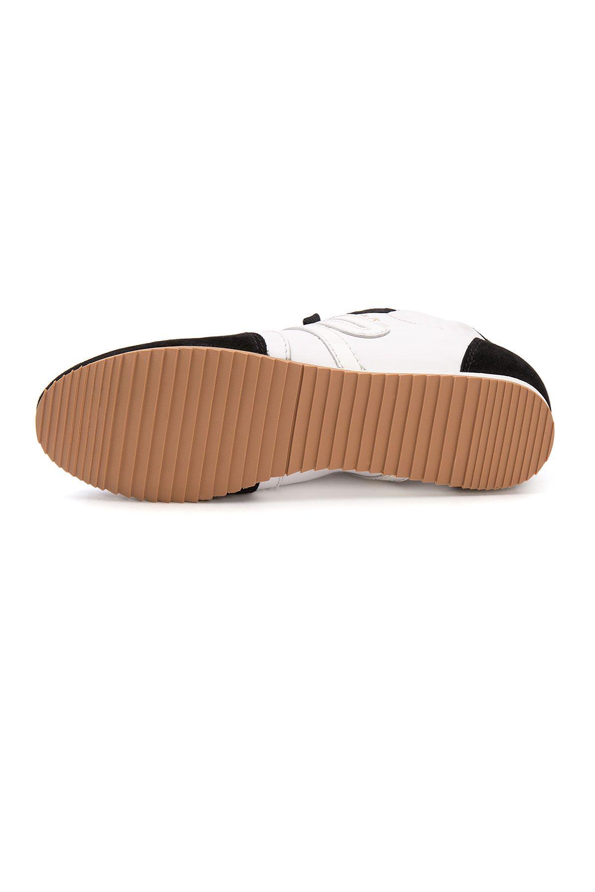 San Women's Leather Sneakers SAN05S Black