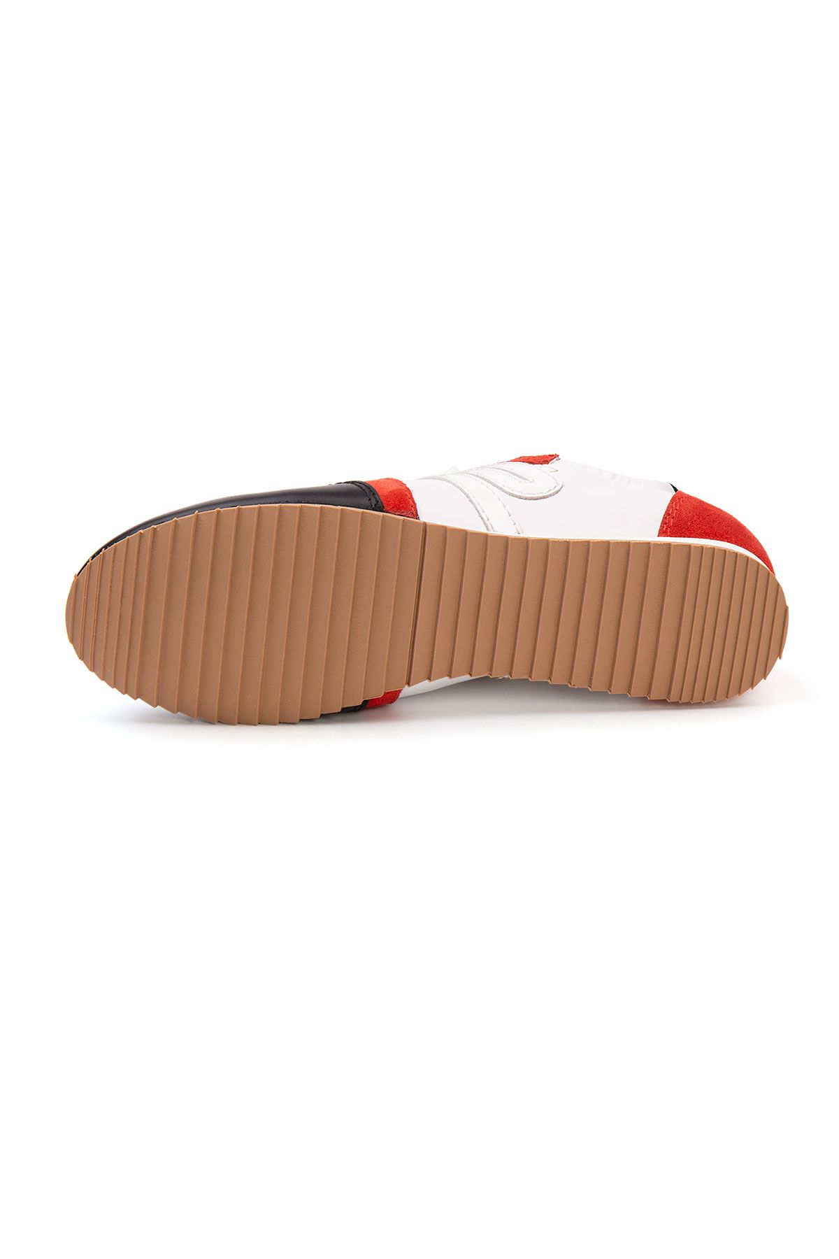 San Women's Leather Sneakers SAN06S Black