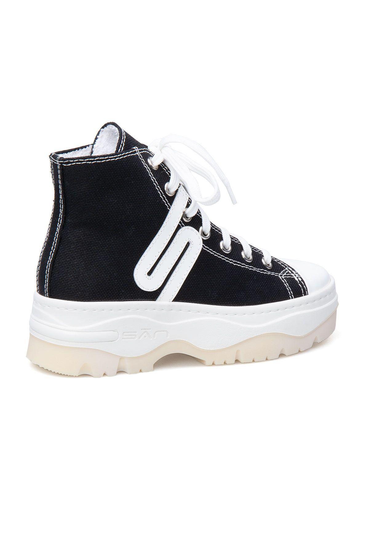 San Women's Sneaker SAN01S Black