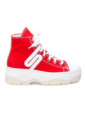 San Women's Sneaker SAN01S Red