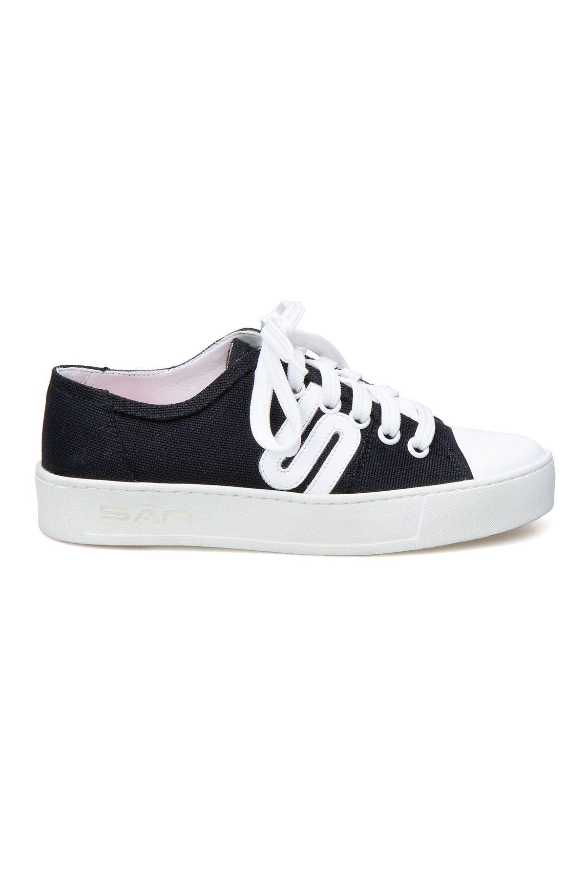 San Women's Sneaker SAN02S Black