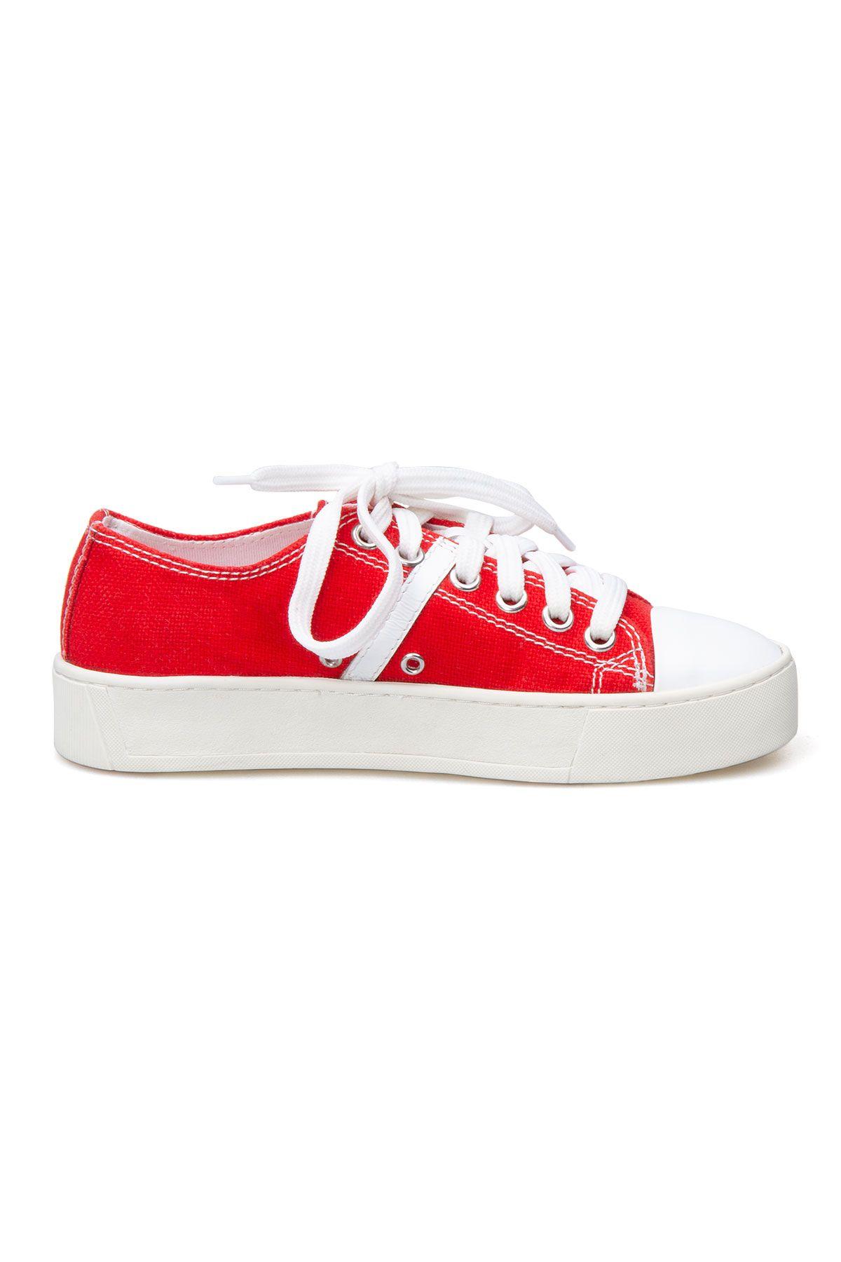 San Women's Sneaker SAN02S Red