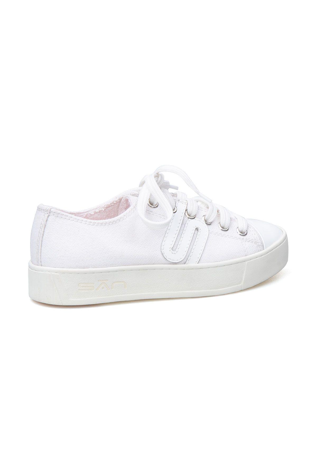 San Women's Sneaker SAN02S White