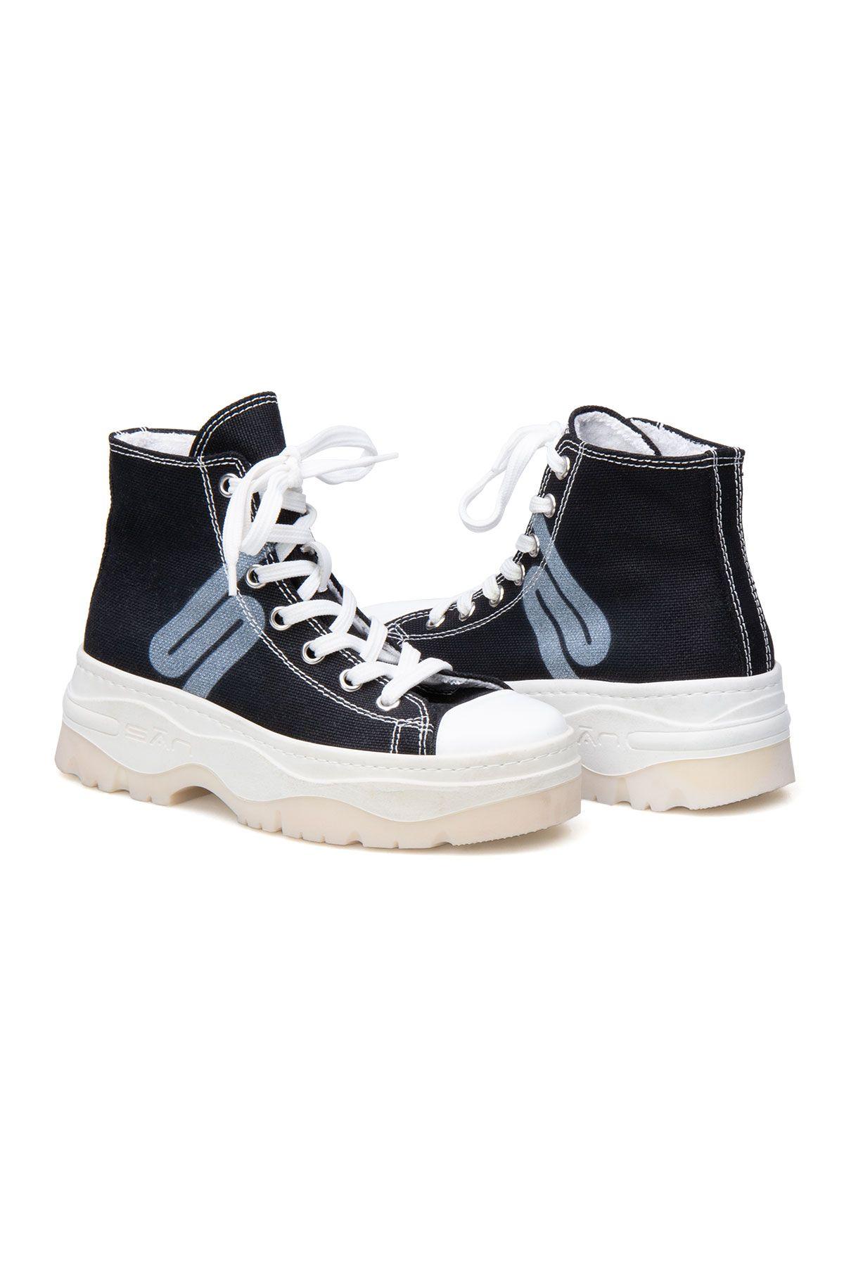 San Women's Sneaker SAN03S Black