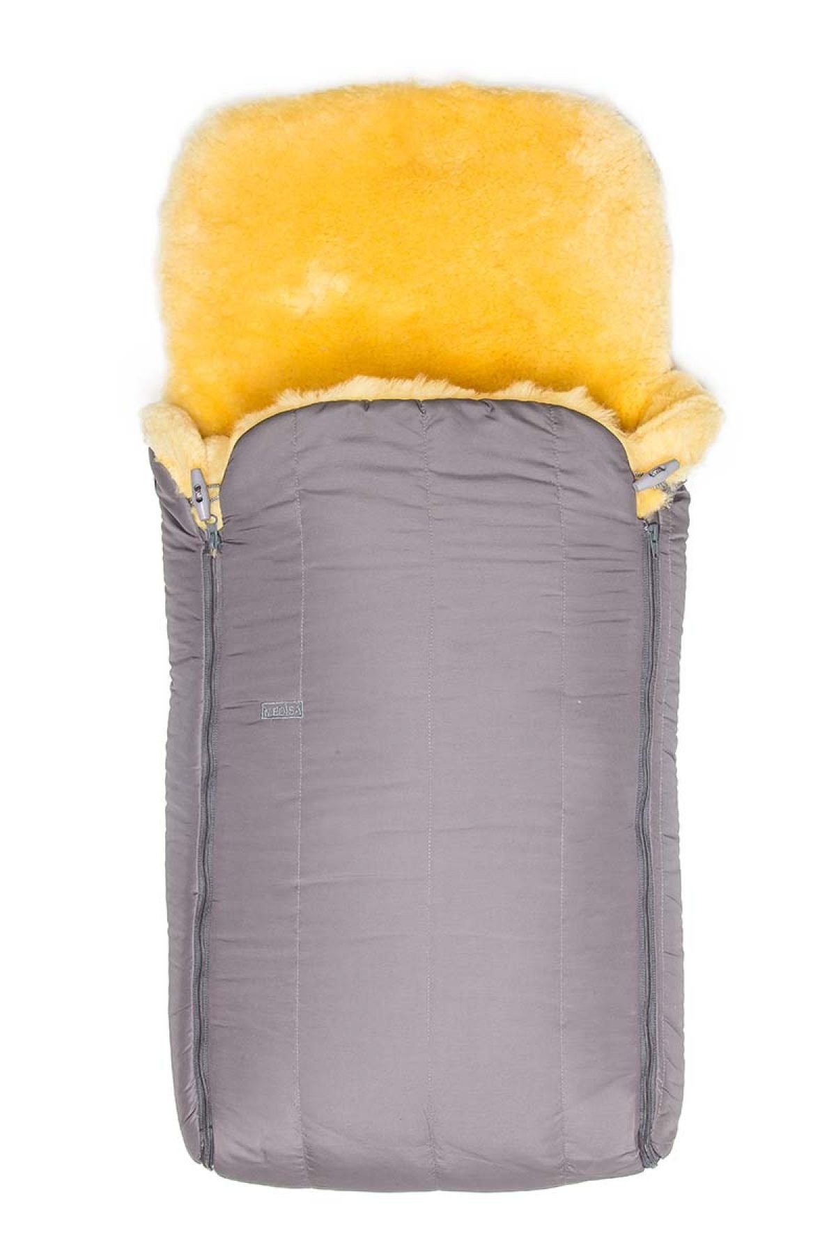 Sheepy Care Double Zippered Baby Sleeping Bag MDK011 Gray