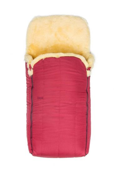Sheepy Care Double Zippered Baby Sleeping Bag MDK011 Claret red