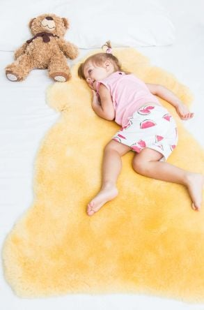 Sheepy Care Medical Sheepskin For Babies Natural