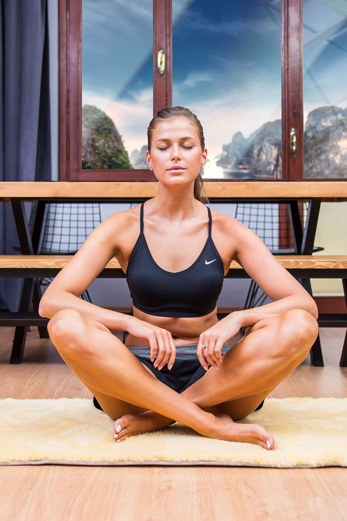 Sheepy Care Medikal Koyun Postu Yoga Minderi MDK021 Natural
