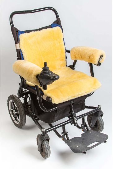 Sheepy Care Medical Sheepskin Wheelchair Cushion MDK014 Natural
