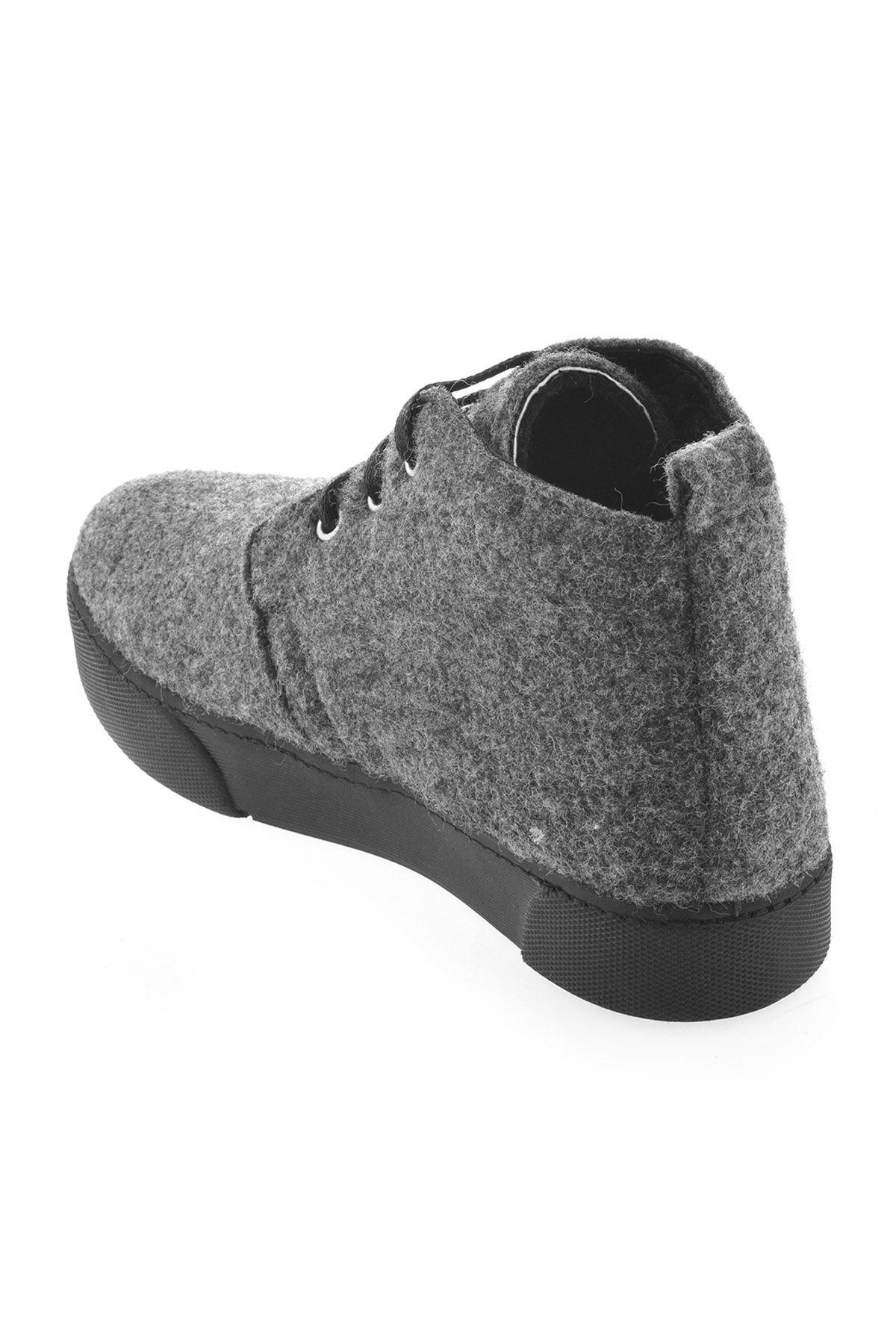 Art Goya Hakiki Kaşmir Bayan Sneaker 659502 Açık Gri