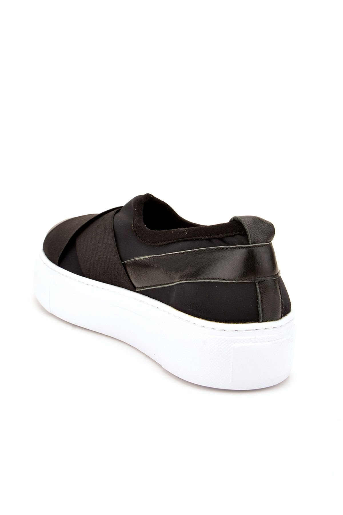 Pegia Voyage Casual Shoes From Genuine Leather REC-011 Black