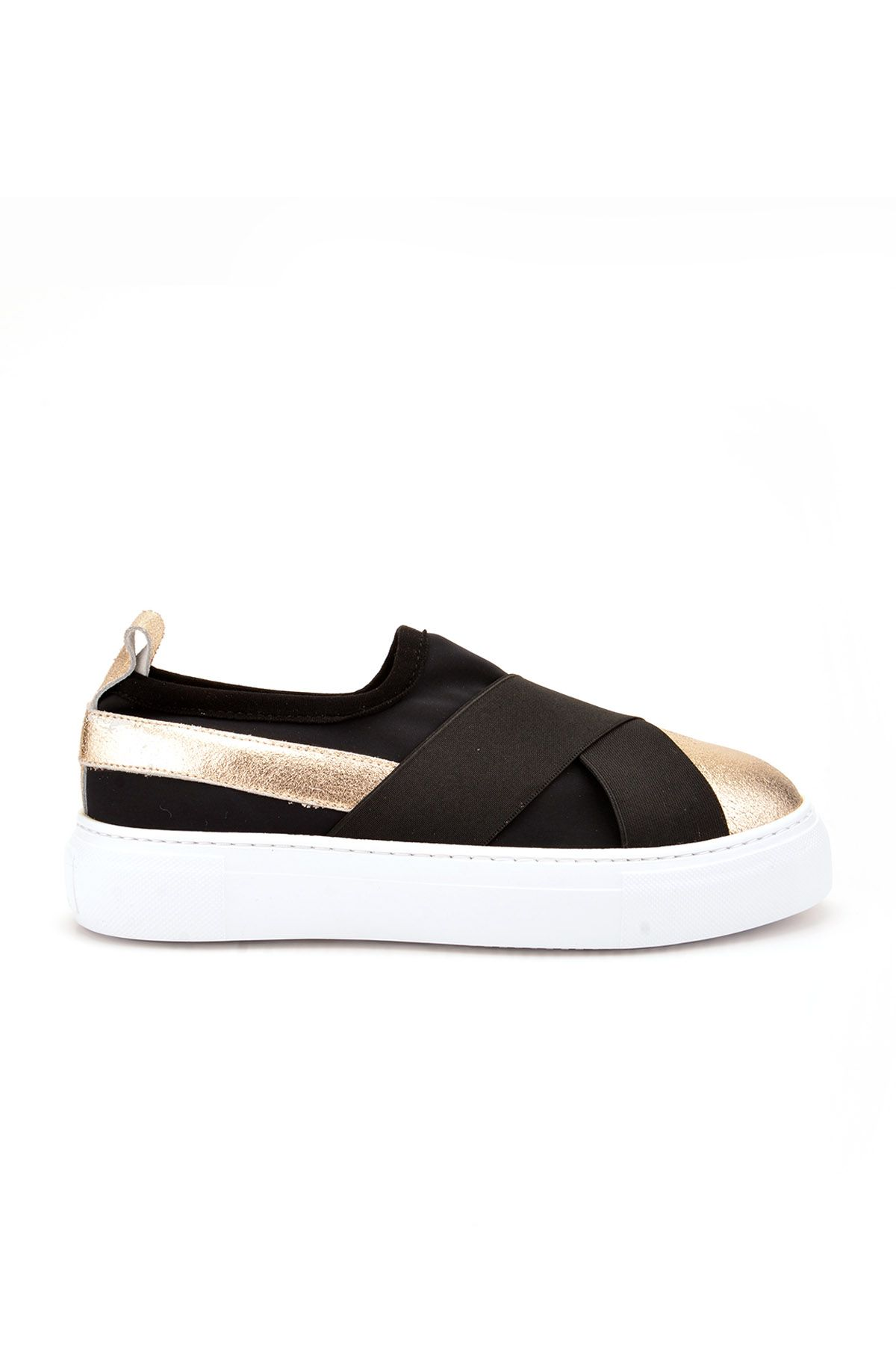 Pegia Voyage Casual Shoes From Genuine Leather REC-011 Golden