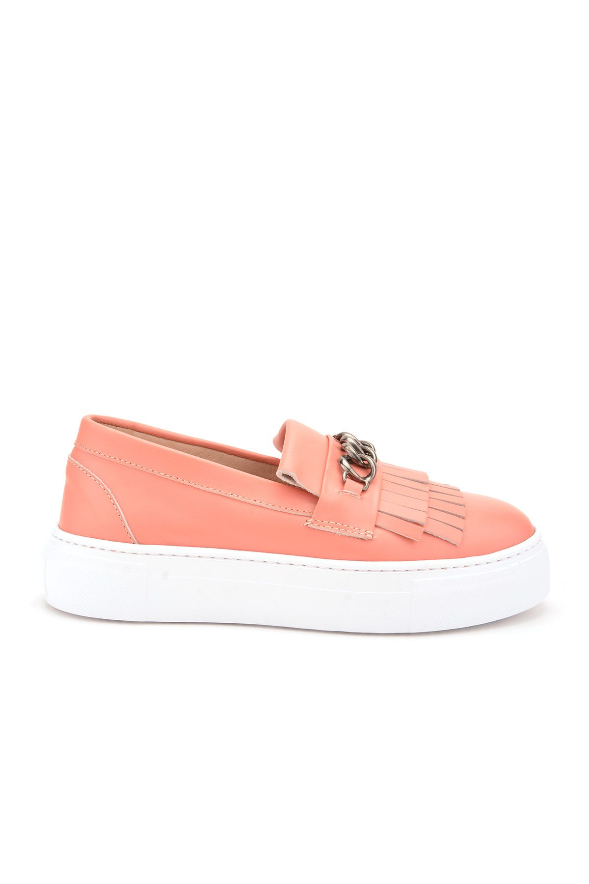 Pegia Sertier Casual Shoes From Genuine Leather REC-003 Pink