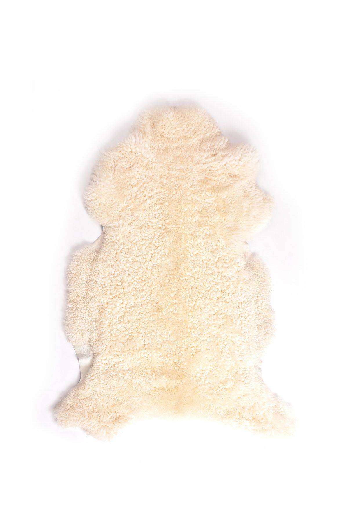 Erdogan Deri Decorative Sheepskin Rug White