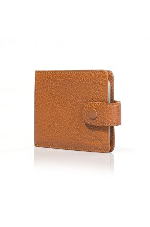 White Rabbit Leather Wallet Visone
