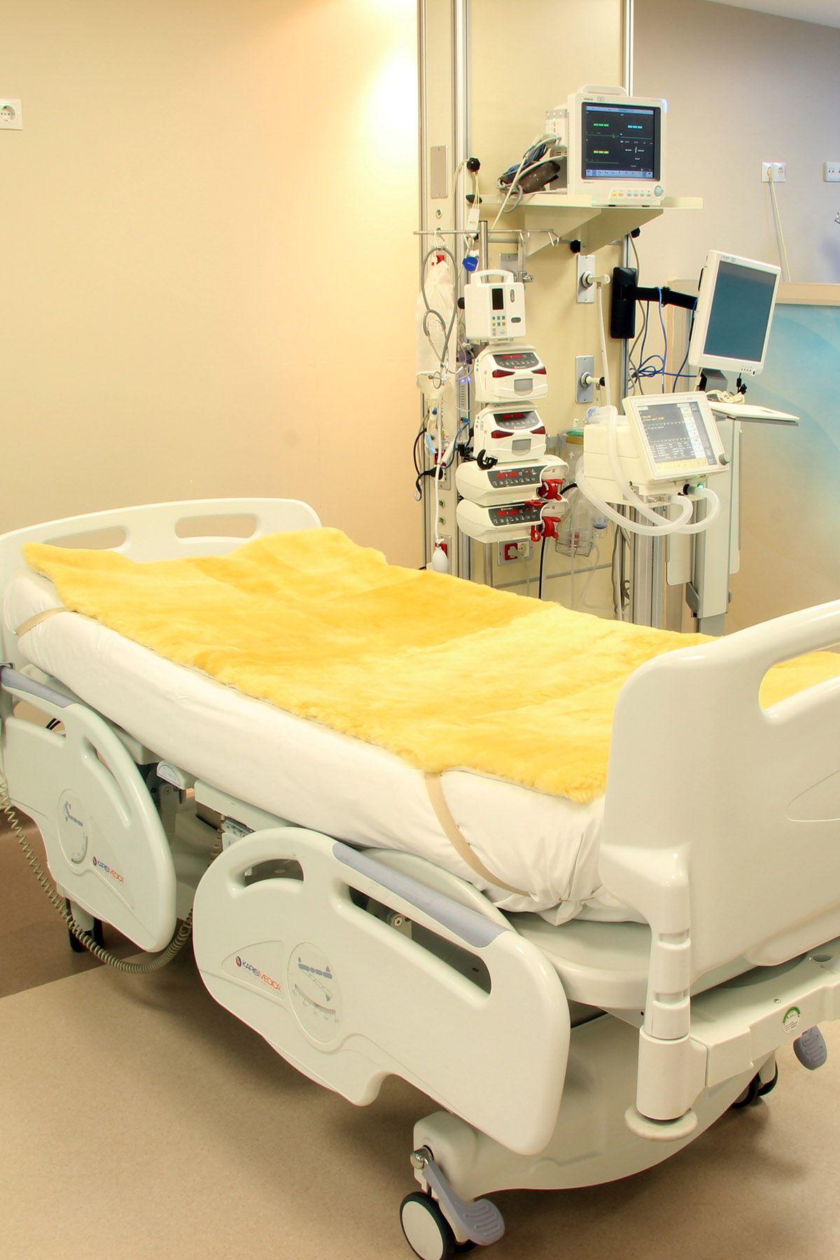 Sheepy Care Medikal Koyun Postu Yatak Örtüsü MDK003 Naturel