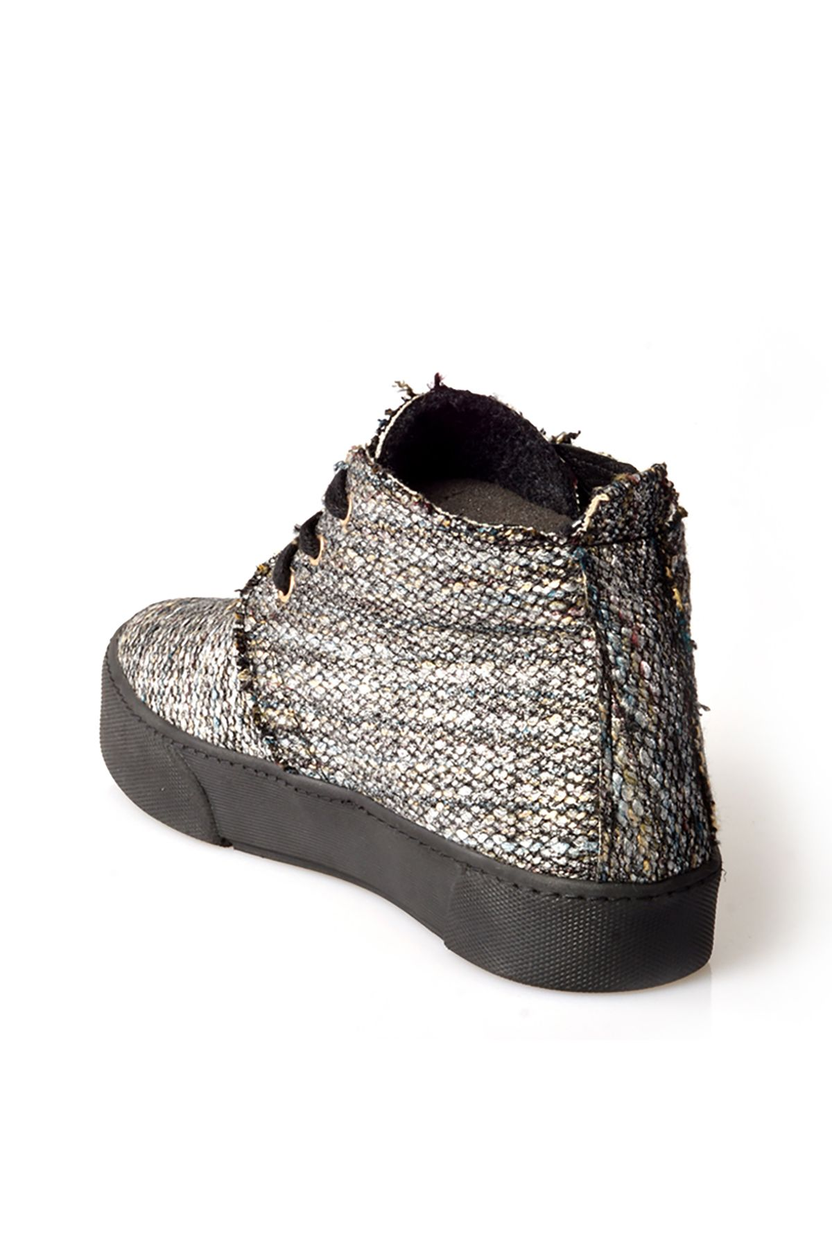Art Goya Hakiki Kaşmir Bayan Sneaker 659502 Gümüş