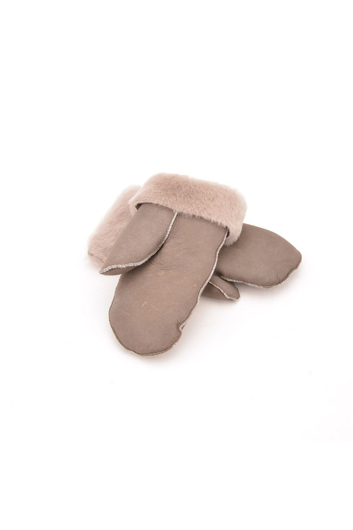 Pegia Kids Gloves From Genuine Leather And Sheepskin Fur Natural