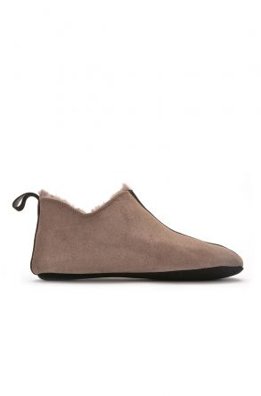 Pegia Women House-shoes From Genuine Fur Visone