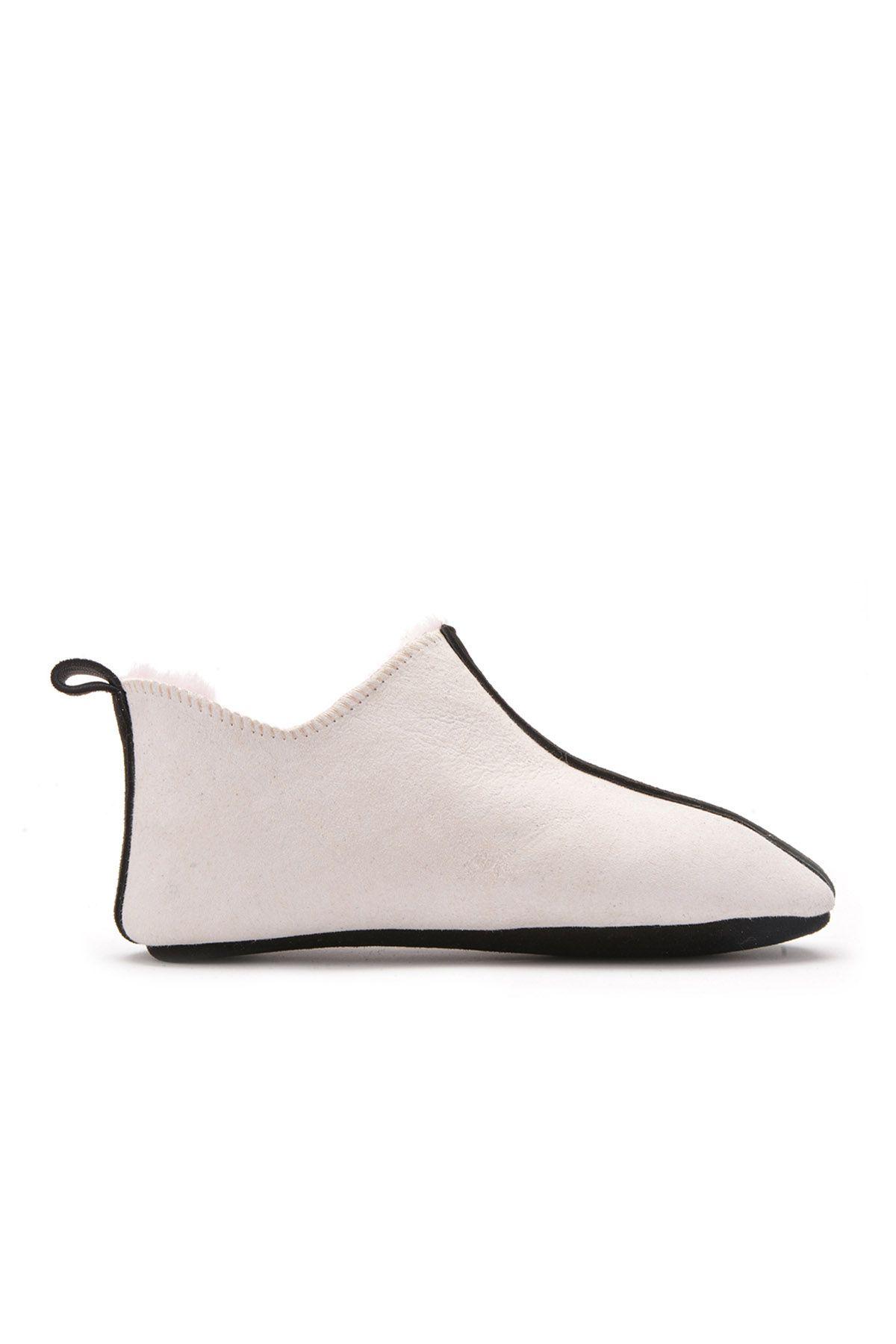 Pegia Детская Домашняя Обувь Из Натурального Меха Бежевый