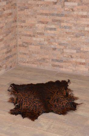 Erdogan Deri Декоративный Коврик Из Натуральной Овчины С Тигровым Узором Природный