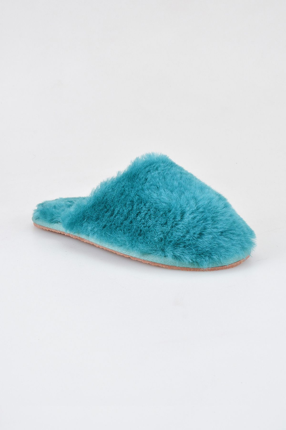 Pegia Women Shearling Slippers 191092 Blue