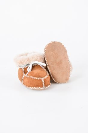 Pegia Shearling Baby's Bootie 141009 Ginger