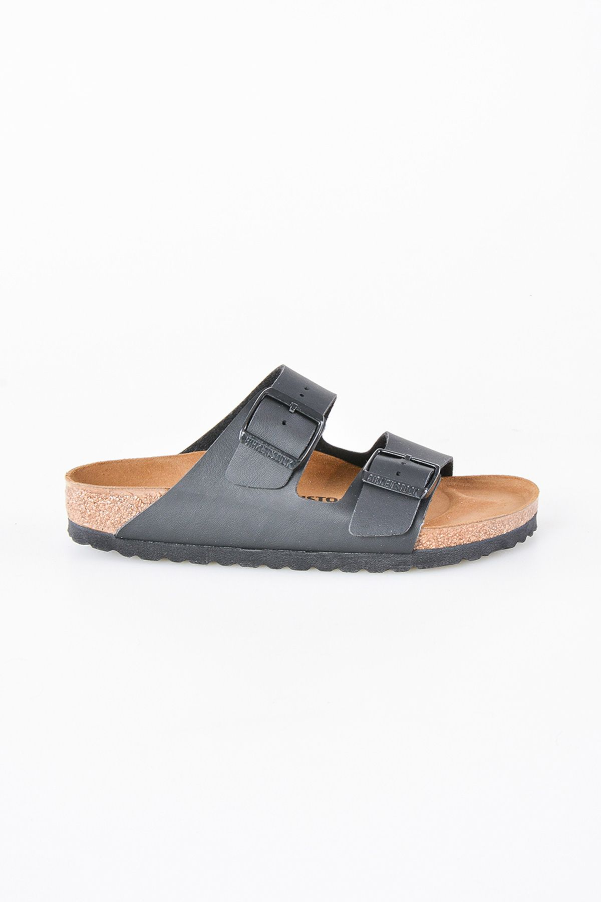 Birkenstock Arizona BS Genuine Leather Women's Summer Slippers 0051793 Black