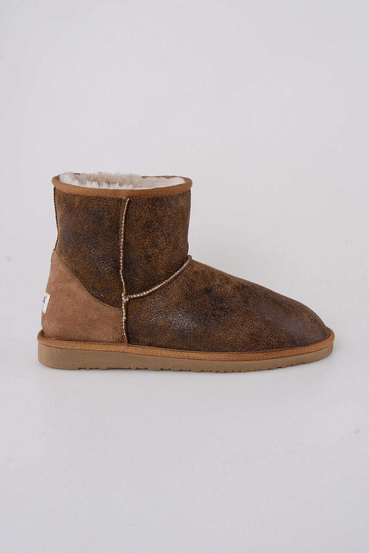Pegia Classic Shearling Men's Boots 111006 Sand-colored