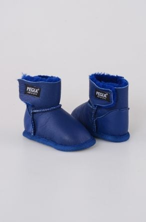 Pegia Shearling Baby's Bootie 143005 Blue