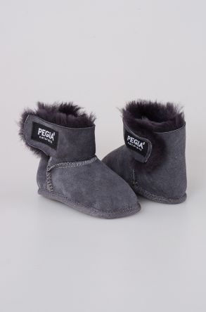 Pegia Shearling Baby's Bootie 143005 Gray