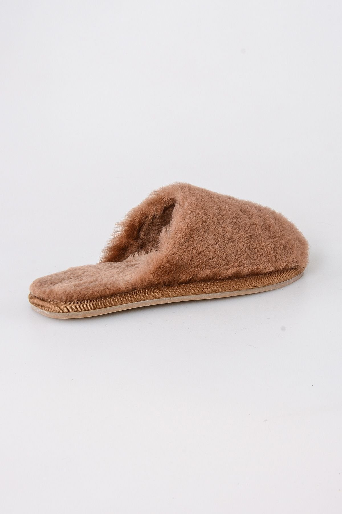 Pegia Women Shearling Slippers 191092 Ginger