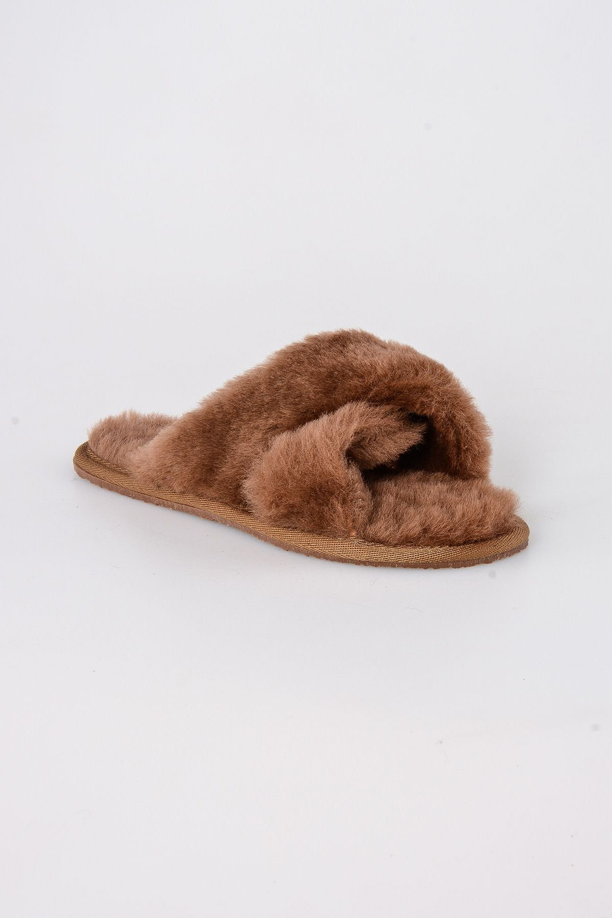 Pegia Women's Shearling Slippers 191096 Ginger