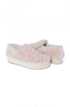 Pegia Women Sneakers From Genuine Fur 659524 Powdery