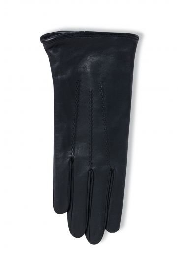 Pegia Women's Classic Leather Gloves 19EK01 Black
