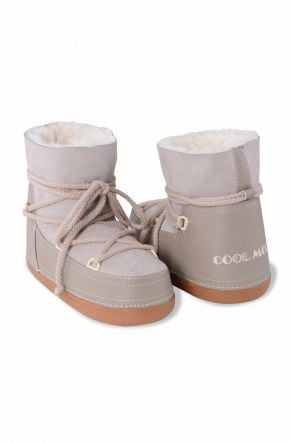 Cool Moon Women Snowboots From Genuine Fur Powdery