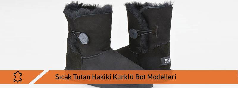Sıcak Tutan Hakiki Kürklü Bot Modelleri