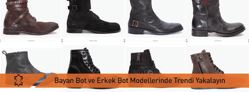 En Trend Bayan Bot ve Erkek Bot Modelleri