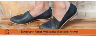 Bayanların Rahat Ayakkabı Arayışı